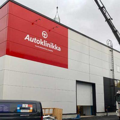 Autoklinikka Ylöjärvi IV-asennus